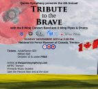 Tribute to the Brave Poster for Facebook
