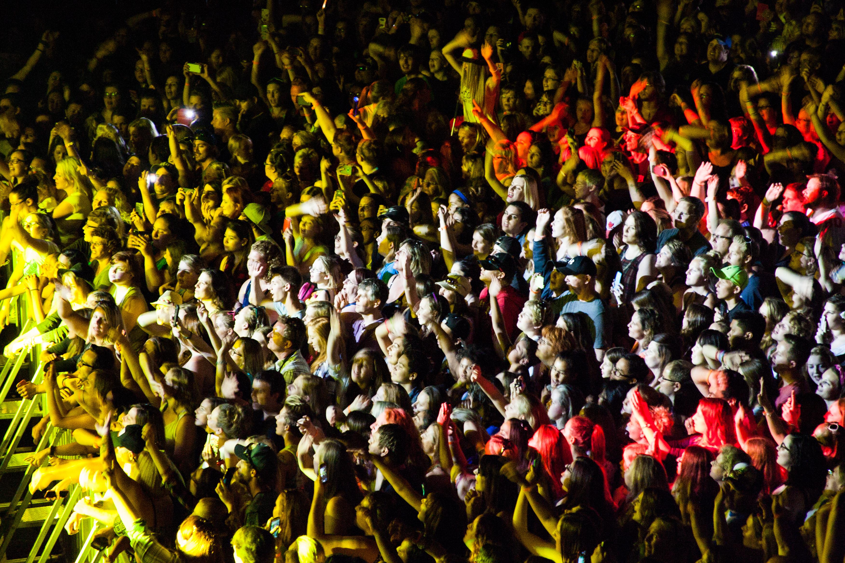 Empire Rockfest crowd at Hedley, 2015. Photo Brock Cruess.