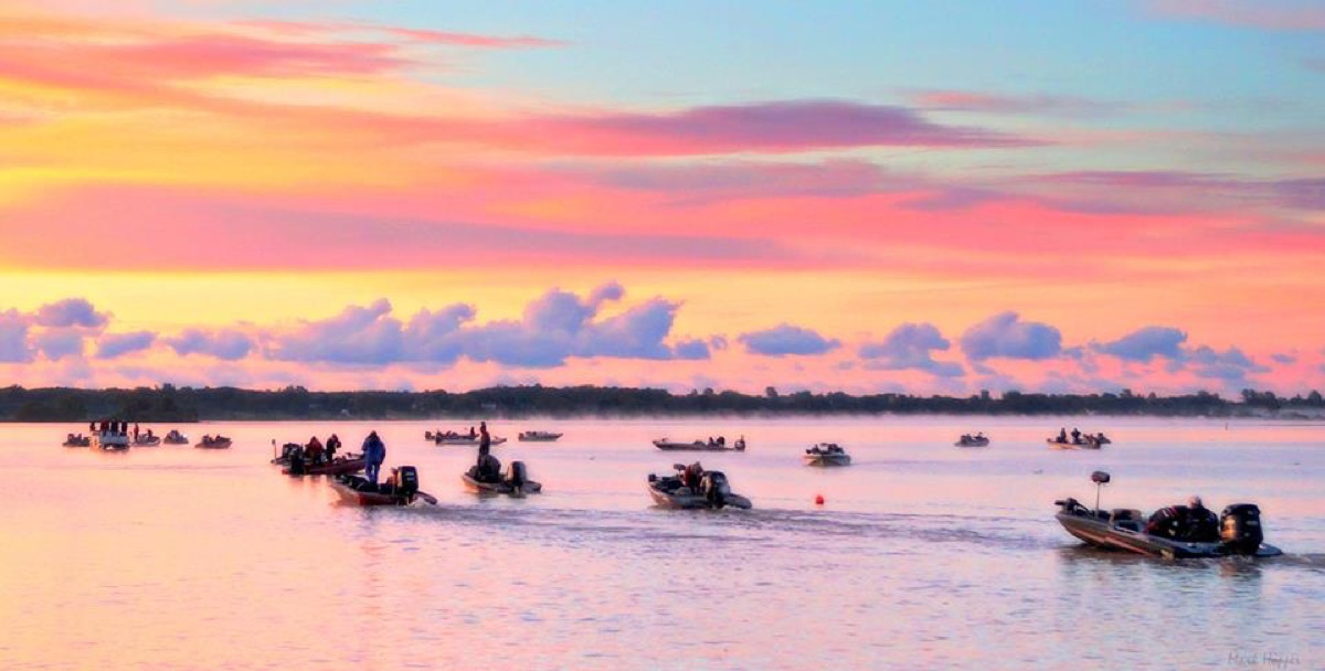 Fishing Tournament on the Bay of Quinte Mark Hopper