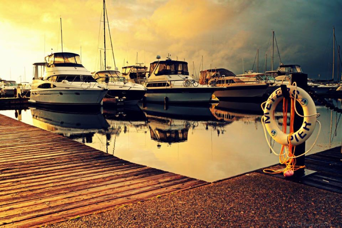 Meyers Pier Bay of Quinte Mark Hopper