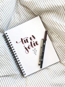 Anna Fraiberg Hand Lettering