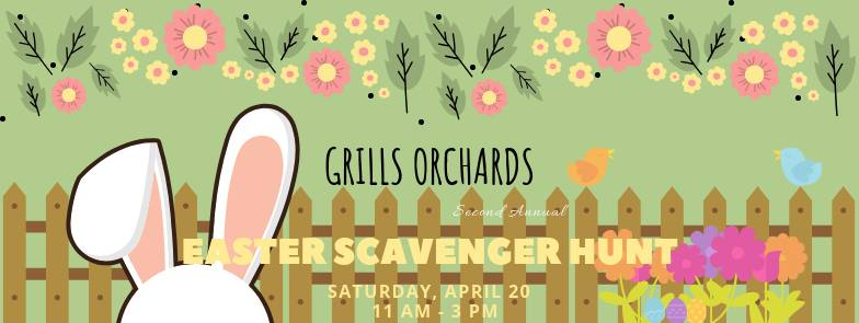 grills orchards easter scavenger hunt