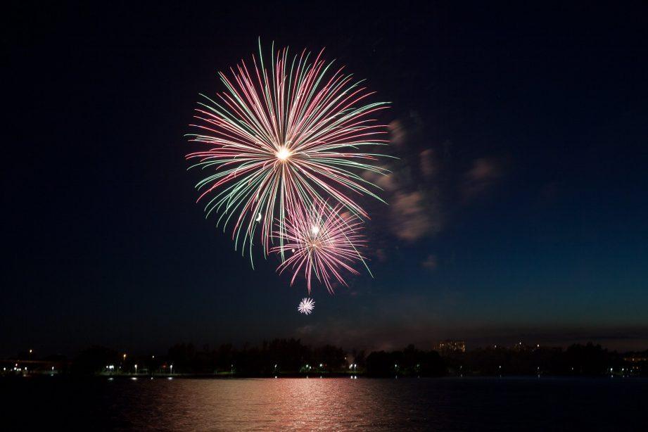 Belleville fireworks