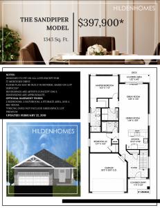 Hilden Homes Mercedes Meadows floor plans