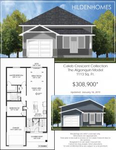 Hilden Homes Antonia Heights floor plans