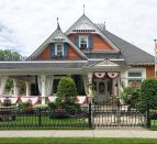 Hatt Sisters Queen Anne-style home in the Old East Hill in Belleville.