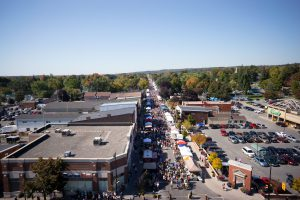 Downtown Brighton at Applefest