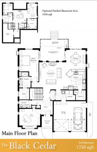 Black Cedar Floor Plans