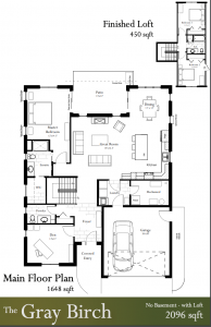 The Gray Birch Floor Plans