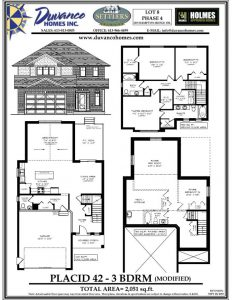 Duvanco Settler's Ridge floorplan