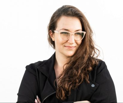 Amber Thompson, a graphic designer and entrepreneur