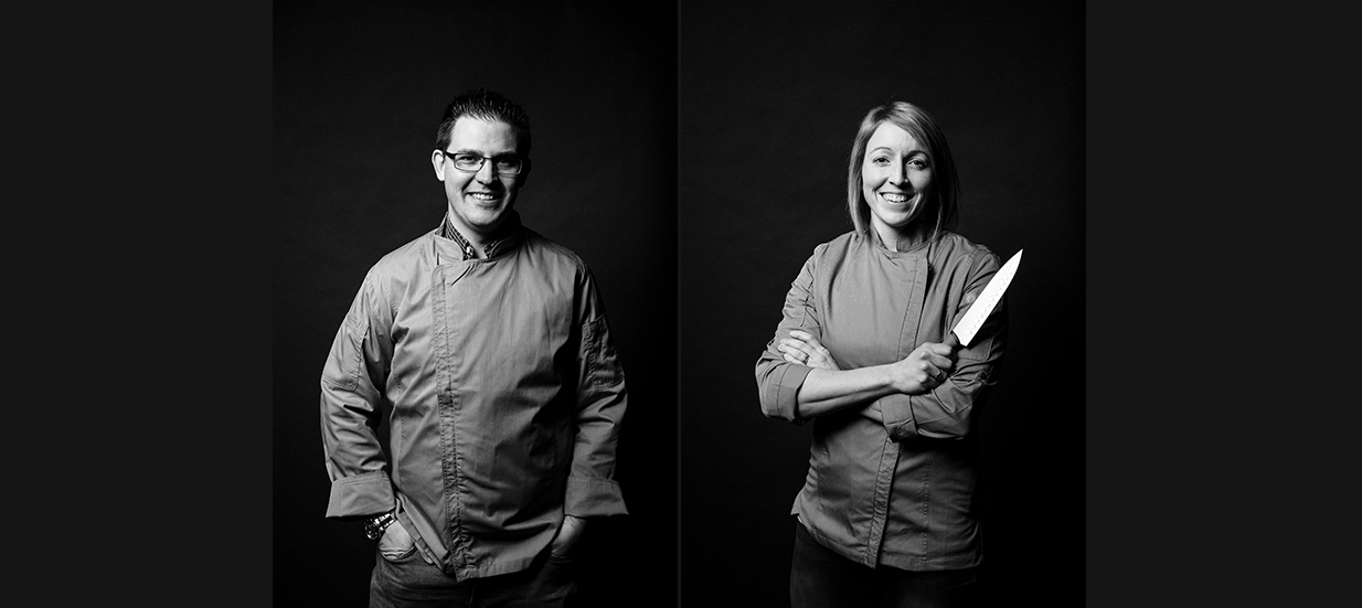 Brent and Jen Parsons of Parsons Cafe and Catering in Quinte West.