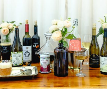 A lineup of local wine, beer and cider from the Bay of Quinte and Prince Edward County.