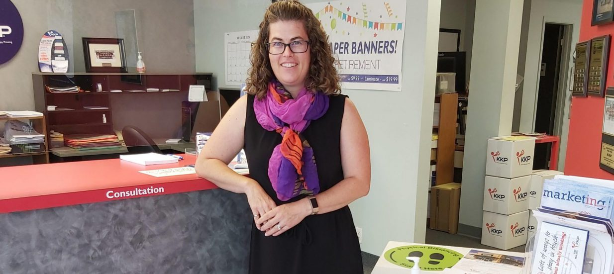 Melissa Haig of KKP Belleville shares how the business has been Makin It Work during COVID-19.