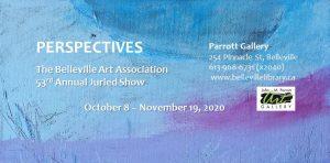 """Perspective"" Belleville Art Association Poster"