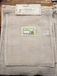 A reusable mesh grocery bag. We asked three locals to share their picks for gifts from local businesses! Head to our blog for our Bay of Quinte Holiday Gift Guide.