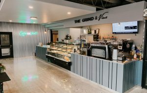 The Grind and Vine Interior
