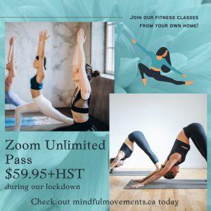 Membership poster - women doing yoga