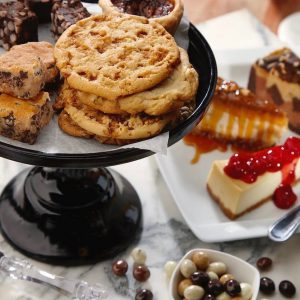 Cake, cookies, and scone spread
