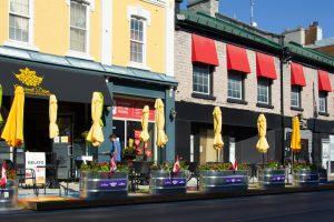 Gourmet Diem cafe exterior and patio