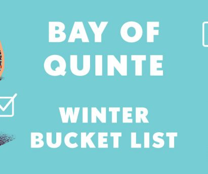 Bay of Quinte Winter Bucket List
