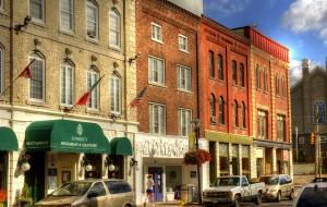 Shopping downtown Belleville