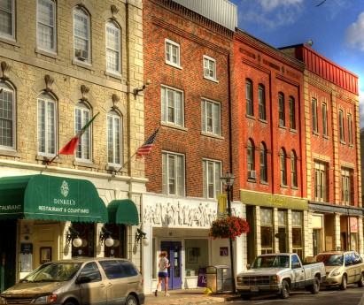 Shopping downtown Belleville