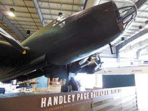 The Handley Page Halifax Bomber at the National Air Force Museum of Canada