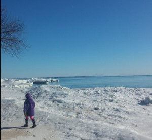 Ice Volcanoes at Presqu'ile