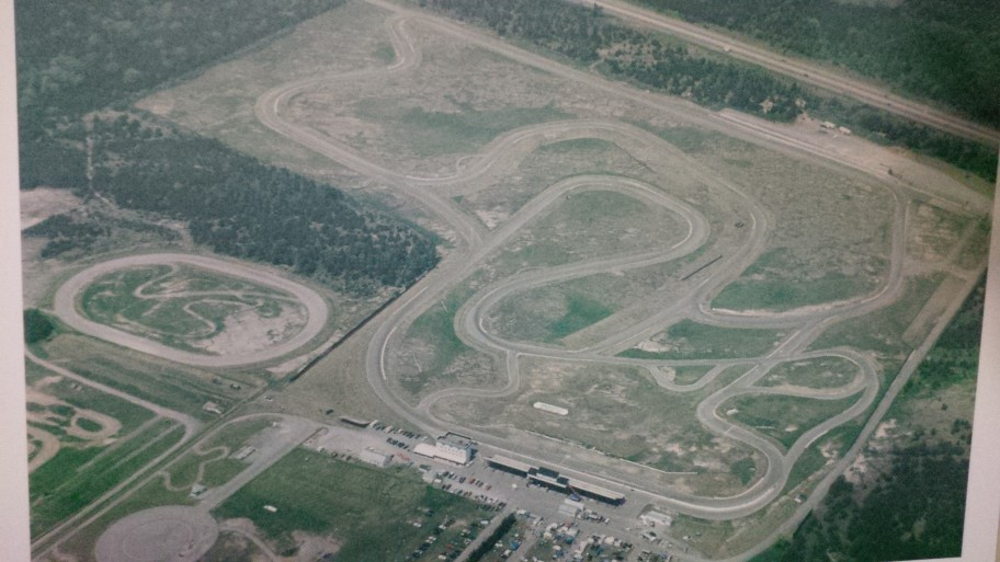 Shannonville Motorsport Park from above.