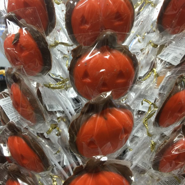 Donini Chocolate Pumpkins from the Bay of Quinte Region.