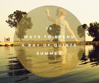 Bay of Quinte Summer Header photo Mark Hopper