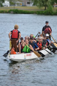 Dragon Boating on the Trent Severn Waterway