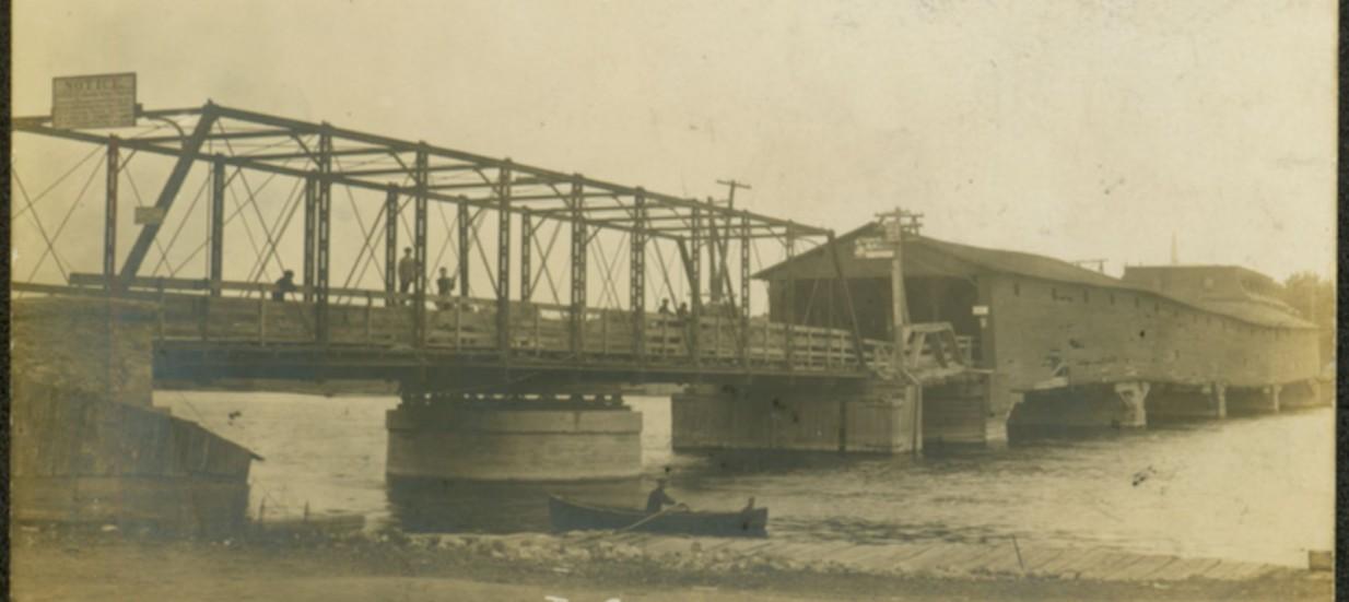 Old Trent Severn Bridge in Quinte West