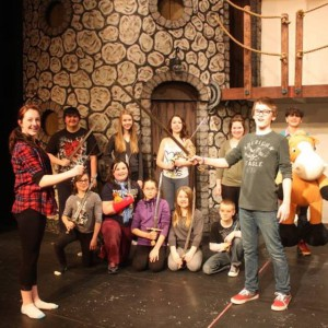 Stirling Theatre's Young Company always delight.