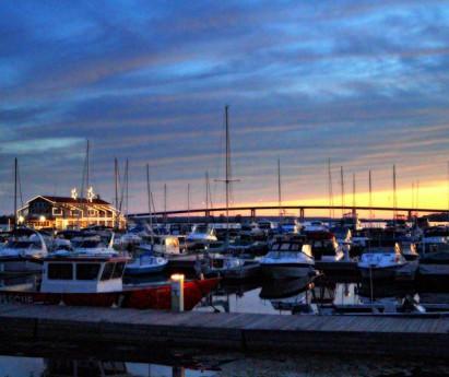Sunset at Meyers Pier