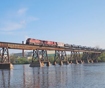 Train Bridge in Quinte West