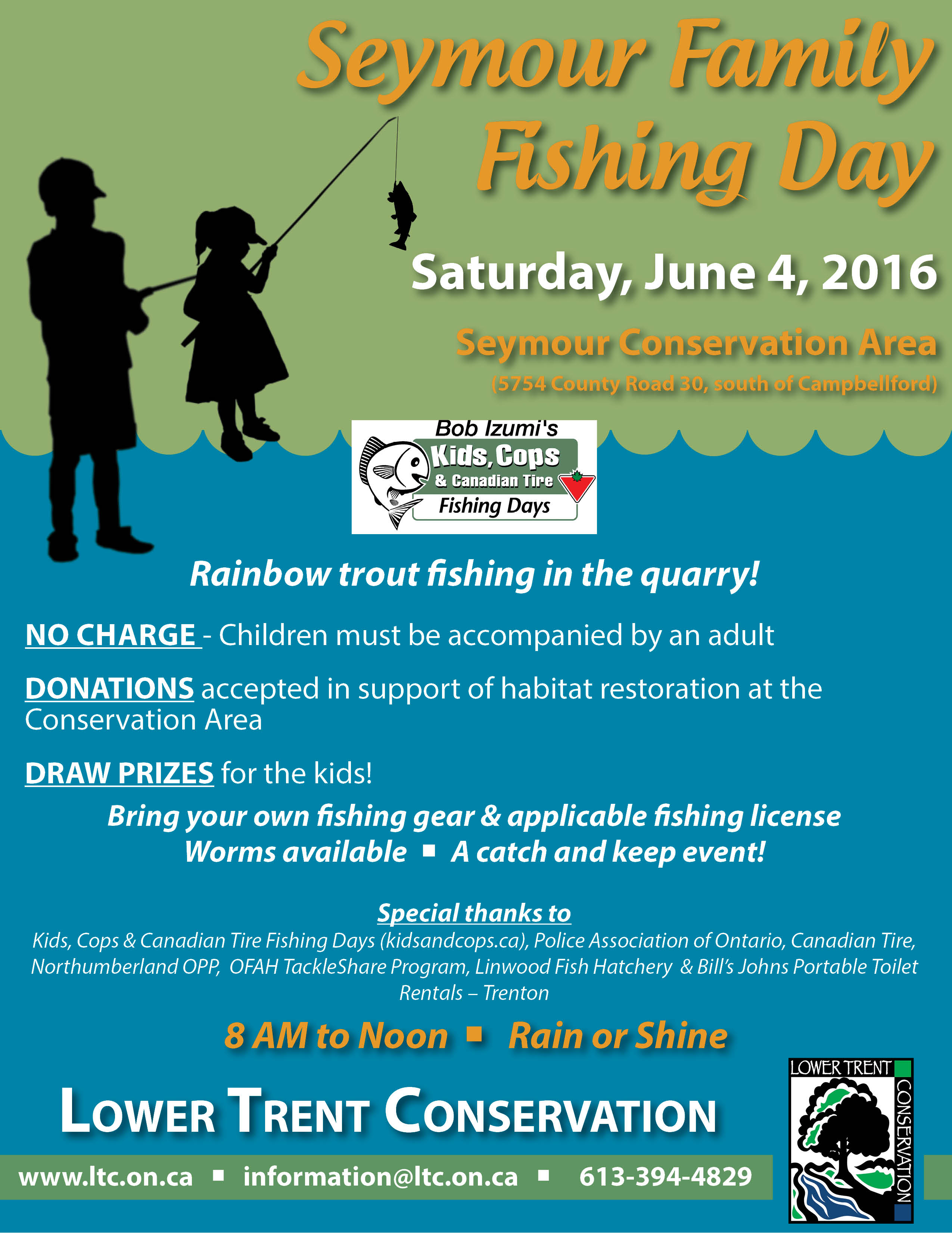 Seymour Family Fishing Day - Bay of Quinte Tourism