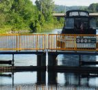 Lock on the Trent-Severn Waterway