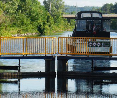 Lock on the Trent-Severn Waterway