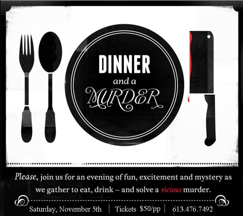 Murder Mystery Dinner Sheet Free: Murder Mystery In The County