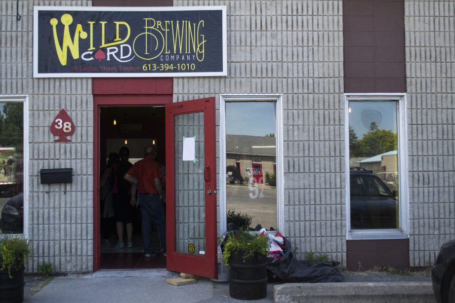 Where the magic happens at Wild Card Brewing Company