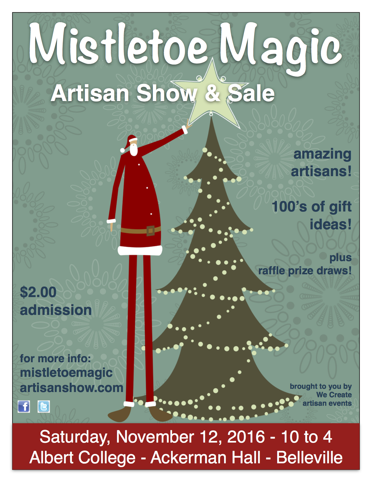 Mistletoe Magic Artisan Show and Sale - Bay of Quinte Tourism