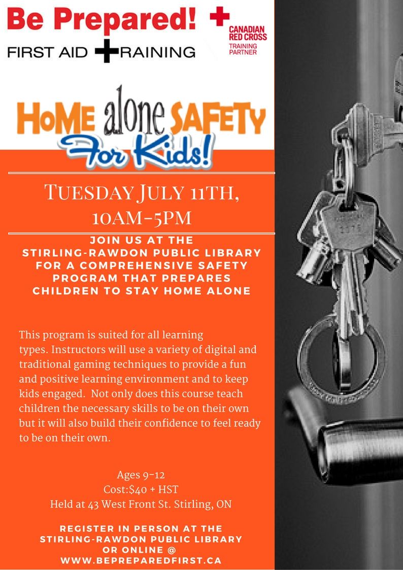 Alone at home: the safety of a younger student