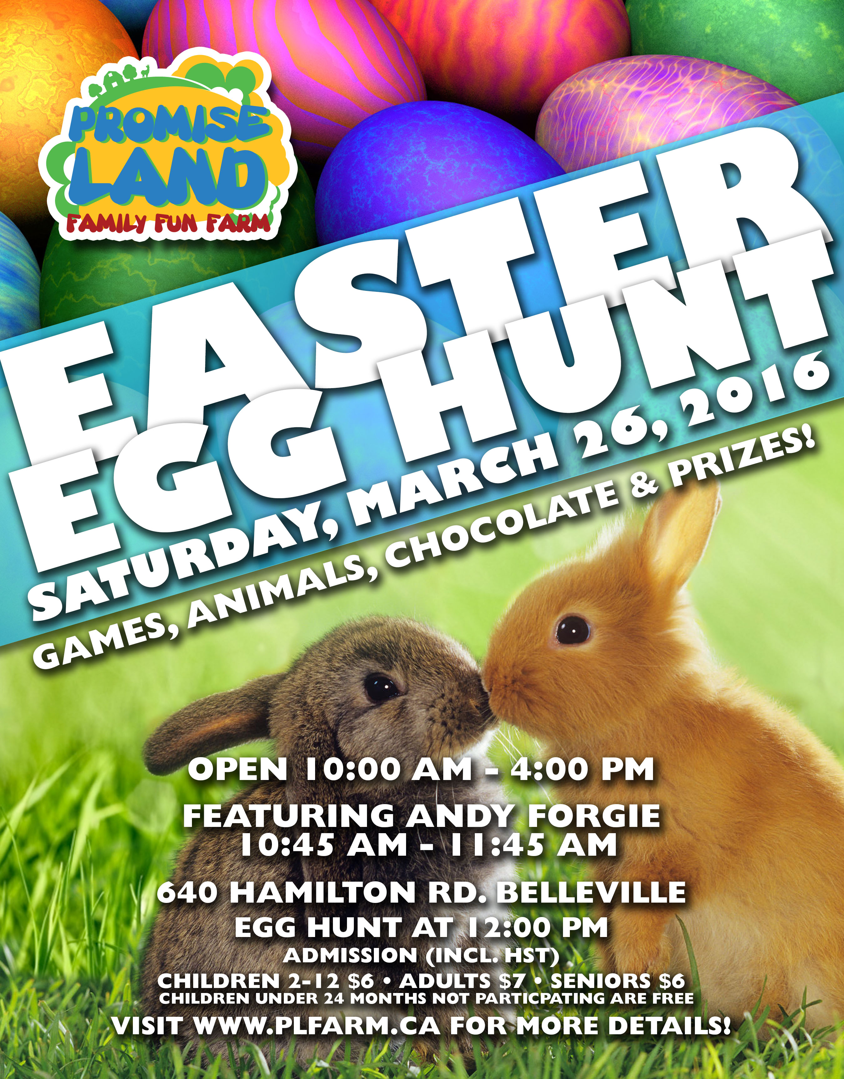 Annual Easter Egg Hunt Bay Of Quinte Tourism