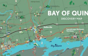 Bay of Quinte Map