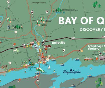 Bay of Quinte Map