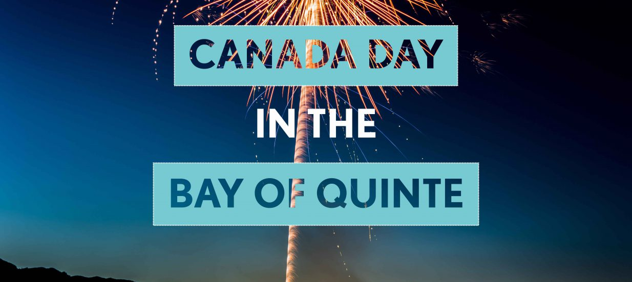 Canada Day in the Bay of Quinte
