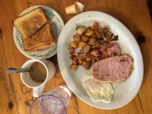 Grab breakfast at Deb's Gas Bar & Restaurant in the Bay of Quinte.