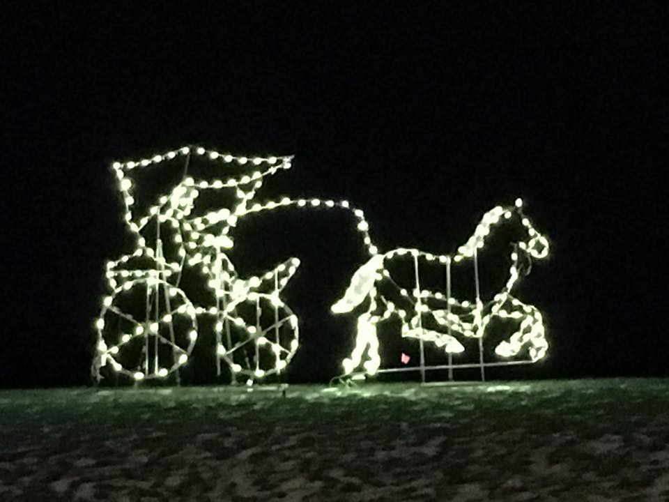 county carriage co christmas lights tour